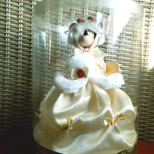 Minnie Mouse Victorian Christmas tree topper